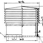 Czerpnie dachowa typu B