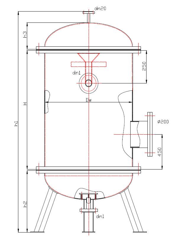 Filtr Pospieszny BFP typ I wielkosc 1-10