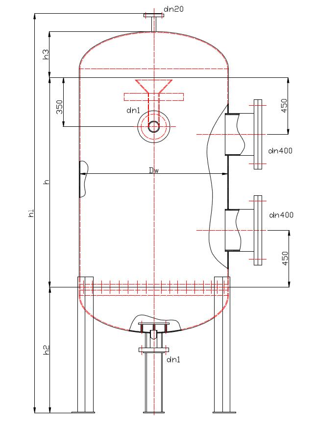 Filtr Pośpieszny BFP typ II, wielkość 7 24