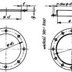 Kołnierze kanałów wentylacyjnych typ B/I