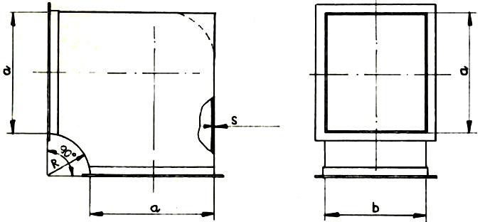 Kolana wentylacyjne Typu A/I
