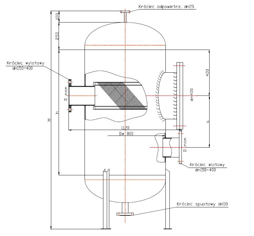 Odmulacz BOD 800 - filtroodmulnik