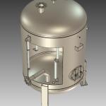 Zasobnik ciepłej wody pionowy ze stali ZAS