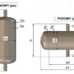 Zbiornik Odpowietrzający - Nieprzepływowy BZO typ A