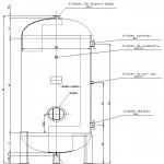Zbiornik Wyrównawczy Sprężonego Powietrza BZSP