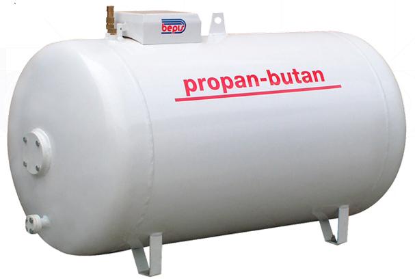 Zbiorniki ciśnieniowe do magazynowania Propanu, Propanu-Butanu