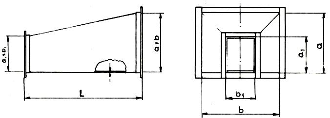 Zwężki Niesymetryczne Typu A/I i A/II